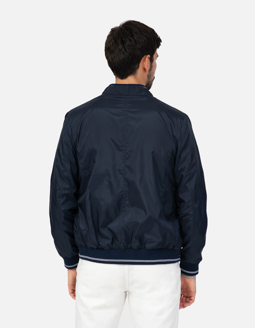 Navy sport jacket - Backside