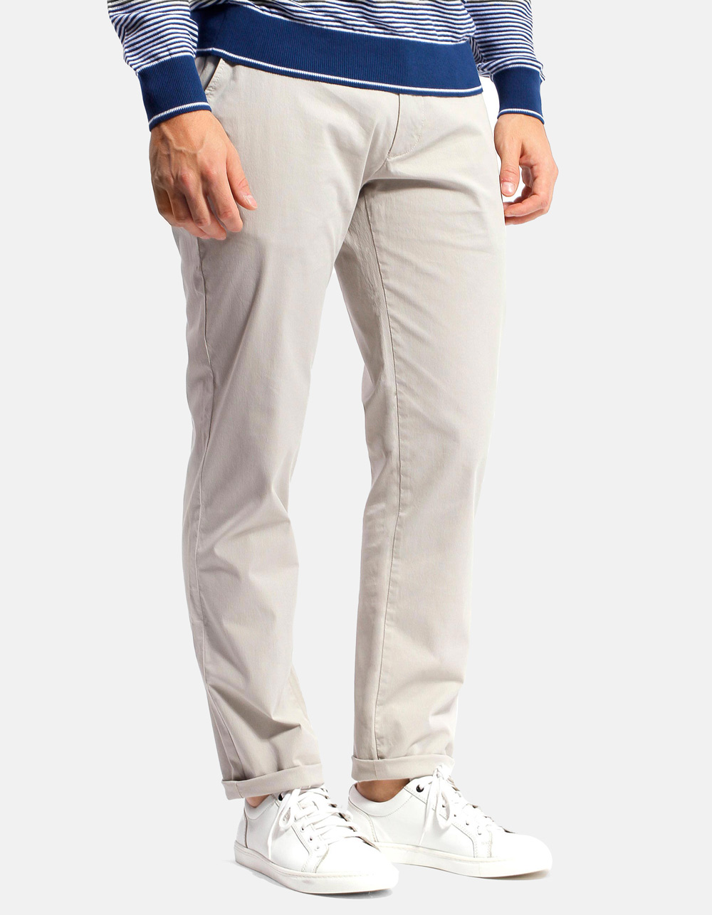 Grey canutillo chinos