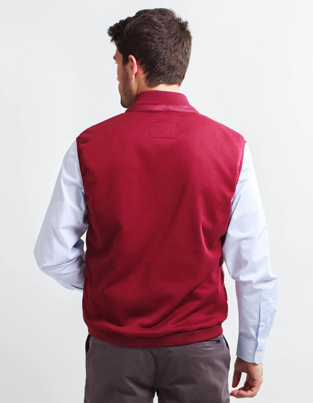 Garnet Vest front part padded back part of point - Backside