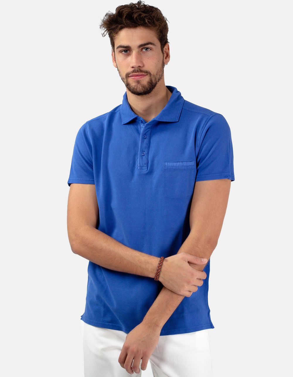 Royal pocket piqué polo