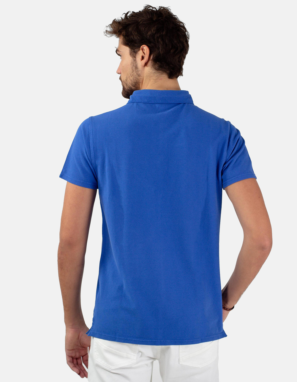 Royal pocket piqué polo - Backside