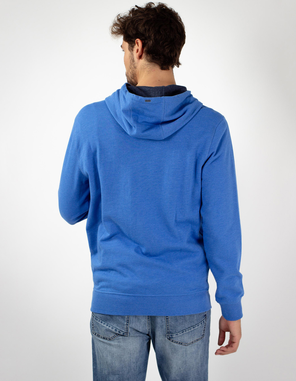 Sudadera NEW HAMPTON azul - Backside