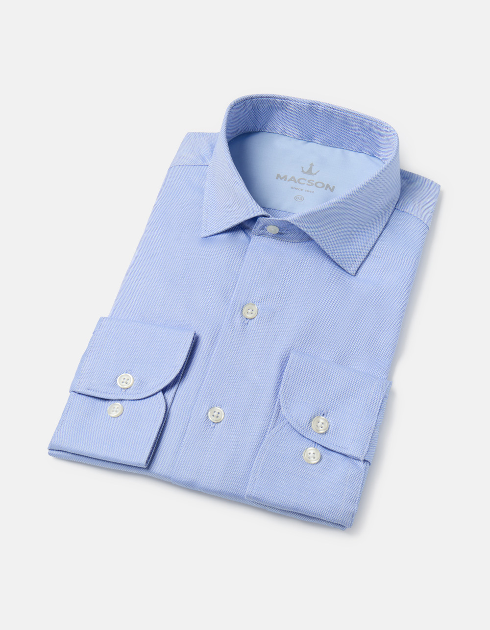 Light blue estructure shirt