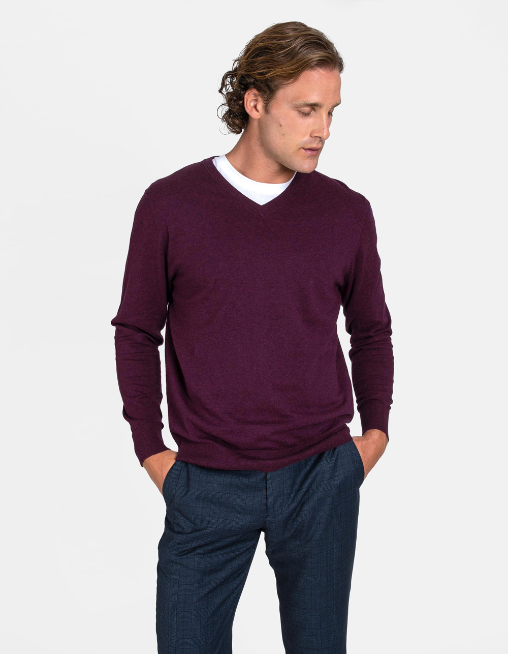 Bordo v-neck sweater