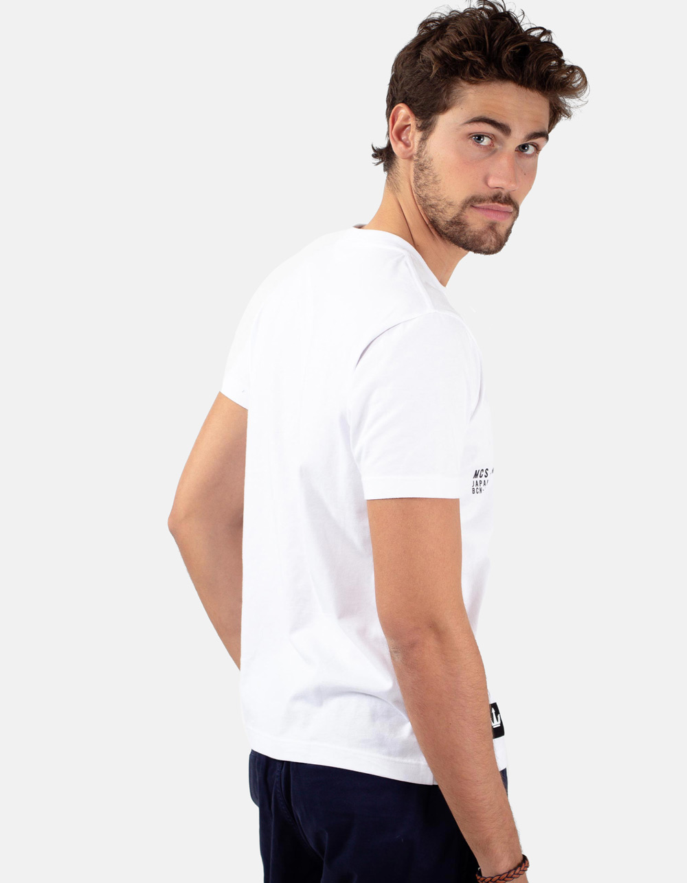 White t-shirt BC-N - Backside