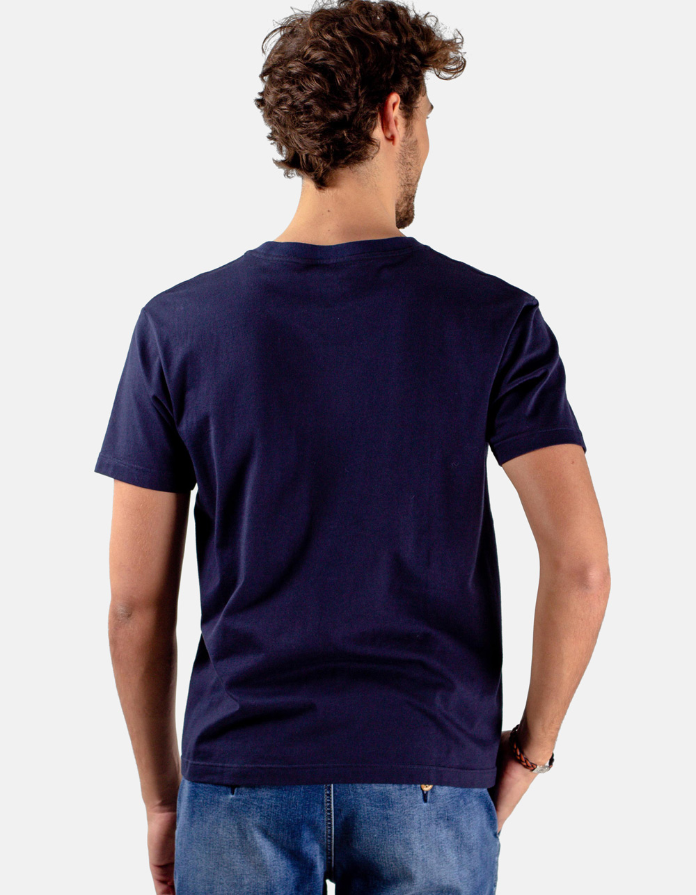 Blue t-shirt BC-N - Backside