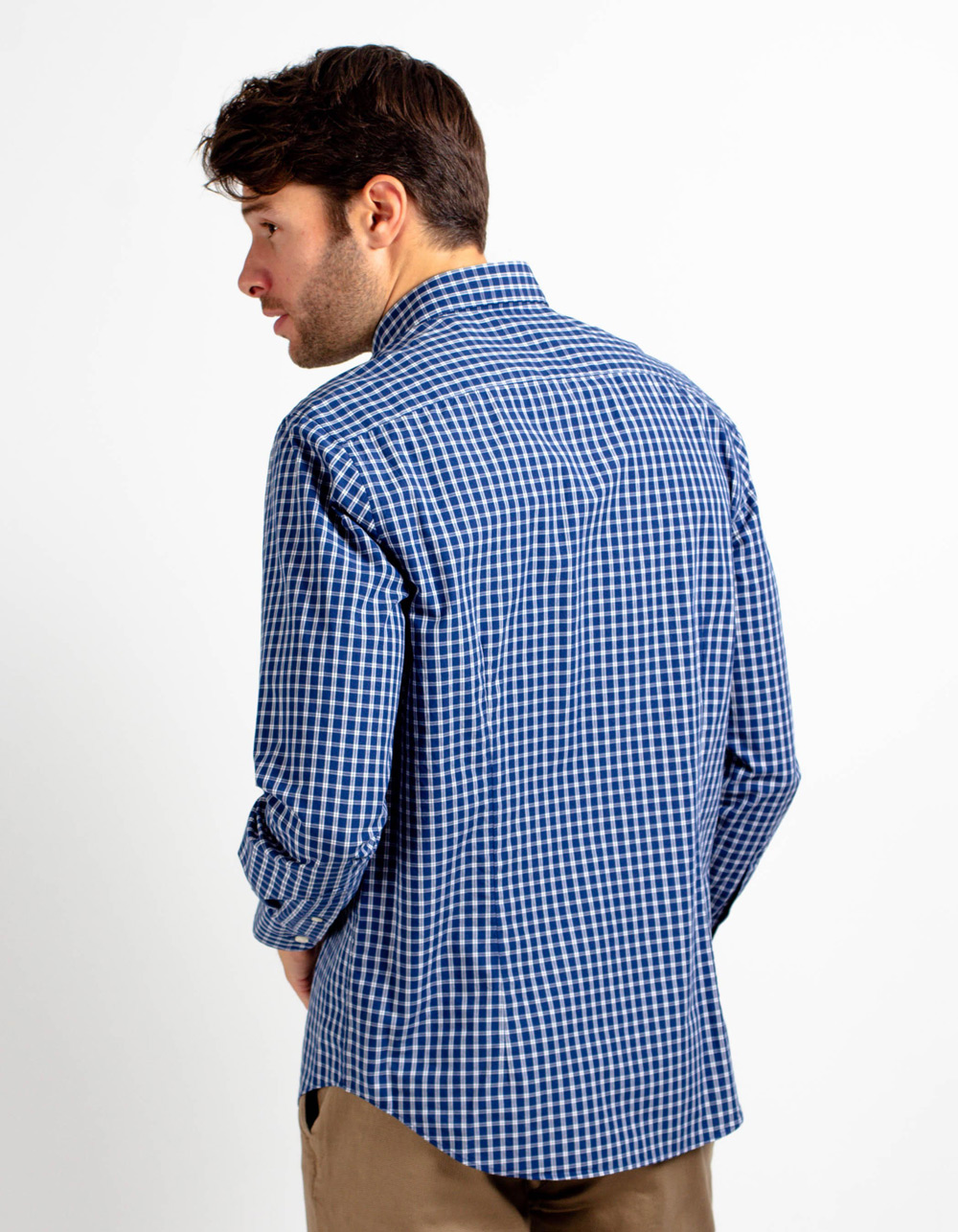 Chequered shirt  - Backside