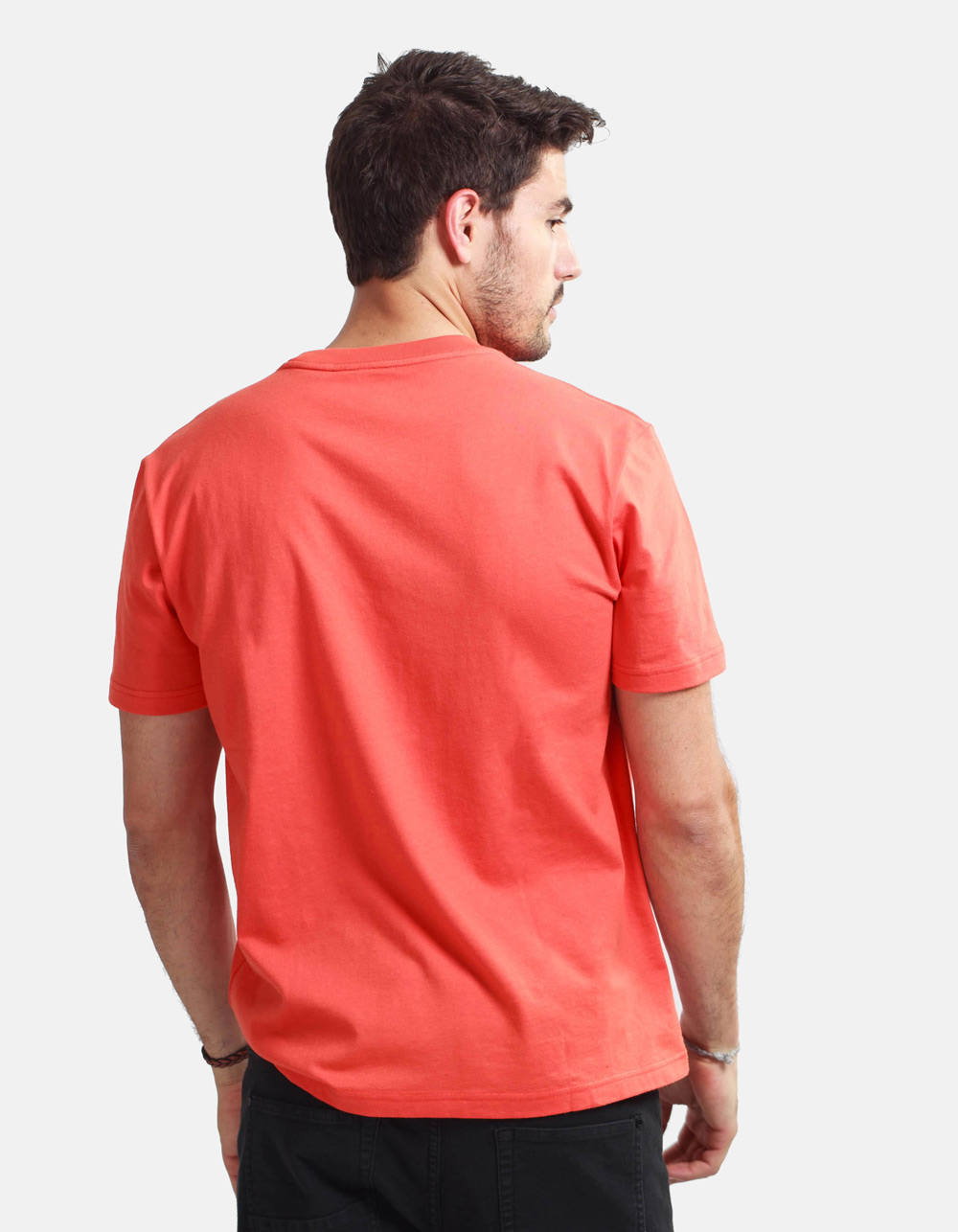 Orange shirt MACSON - Backside