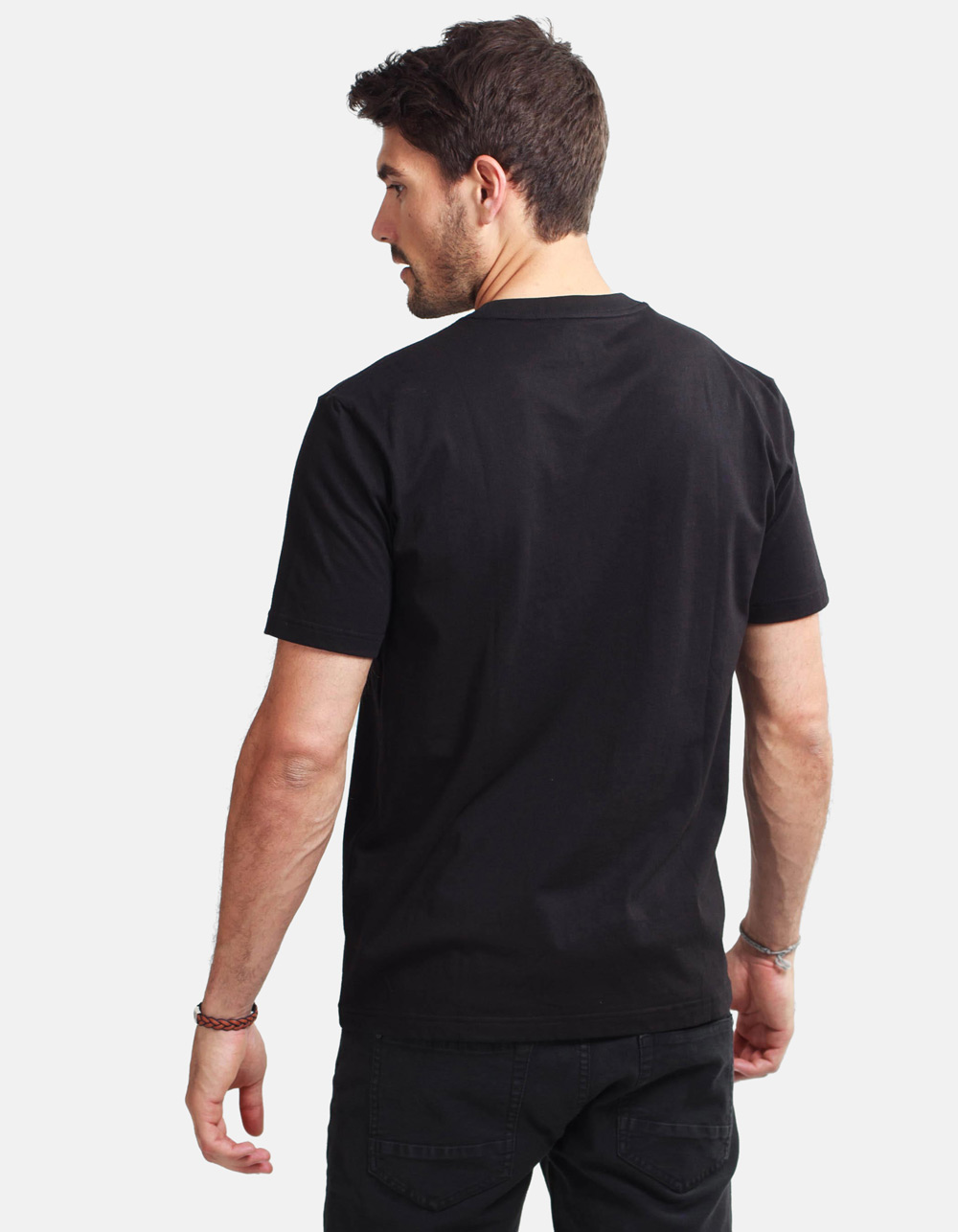 Black shirt MACSON - Backside