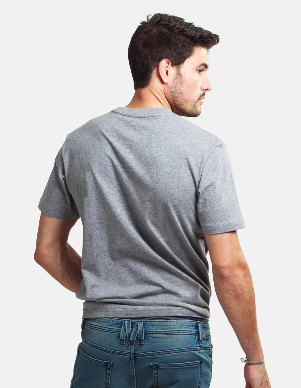 Grey t-shirt BC-N - Backside