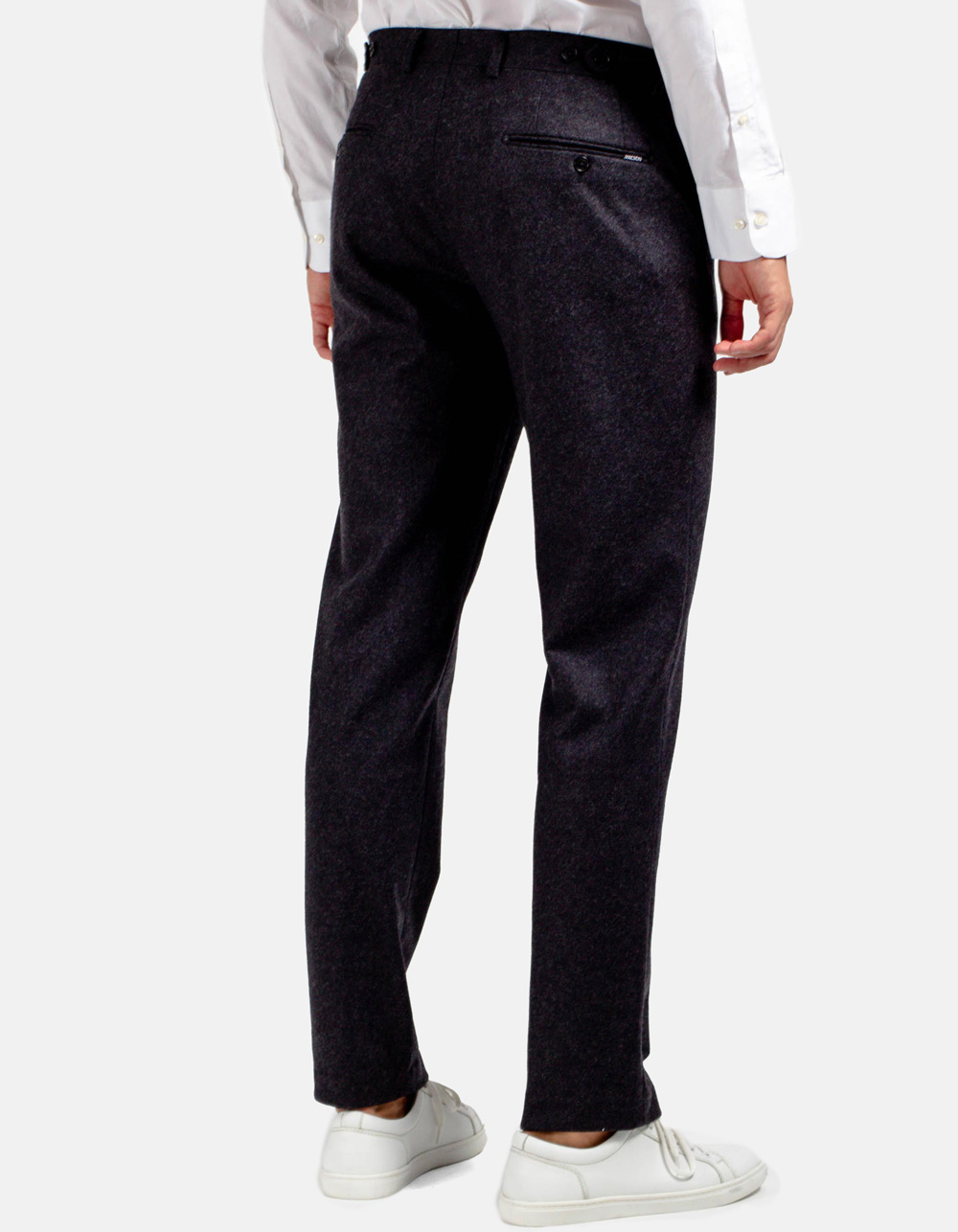 Charcoal formal trousers - Backside