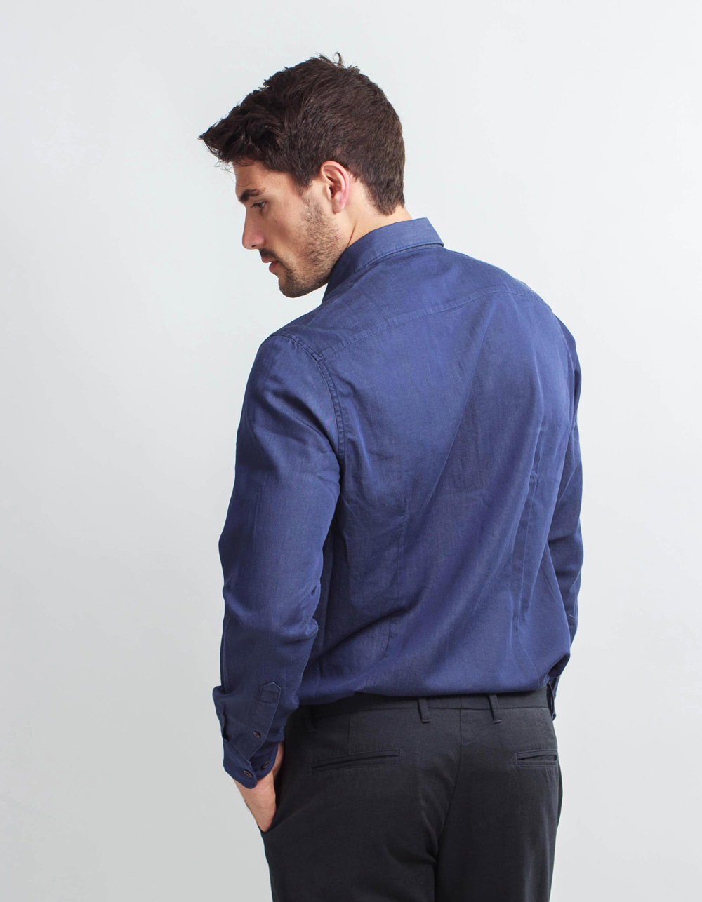 Denim Shirt  - Backside