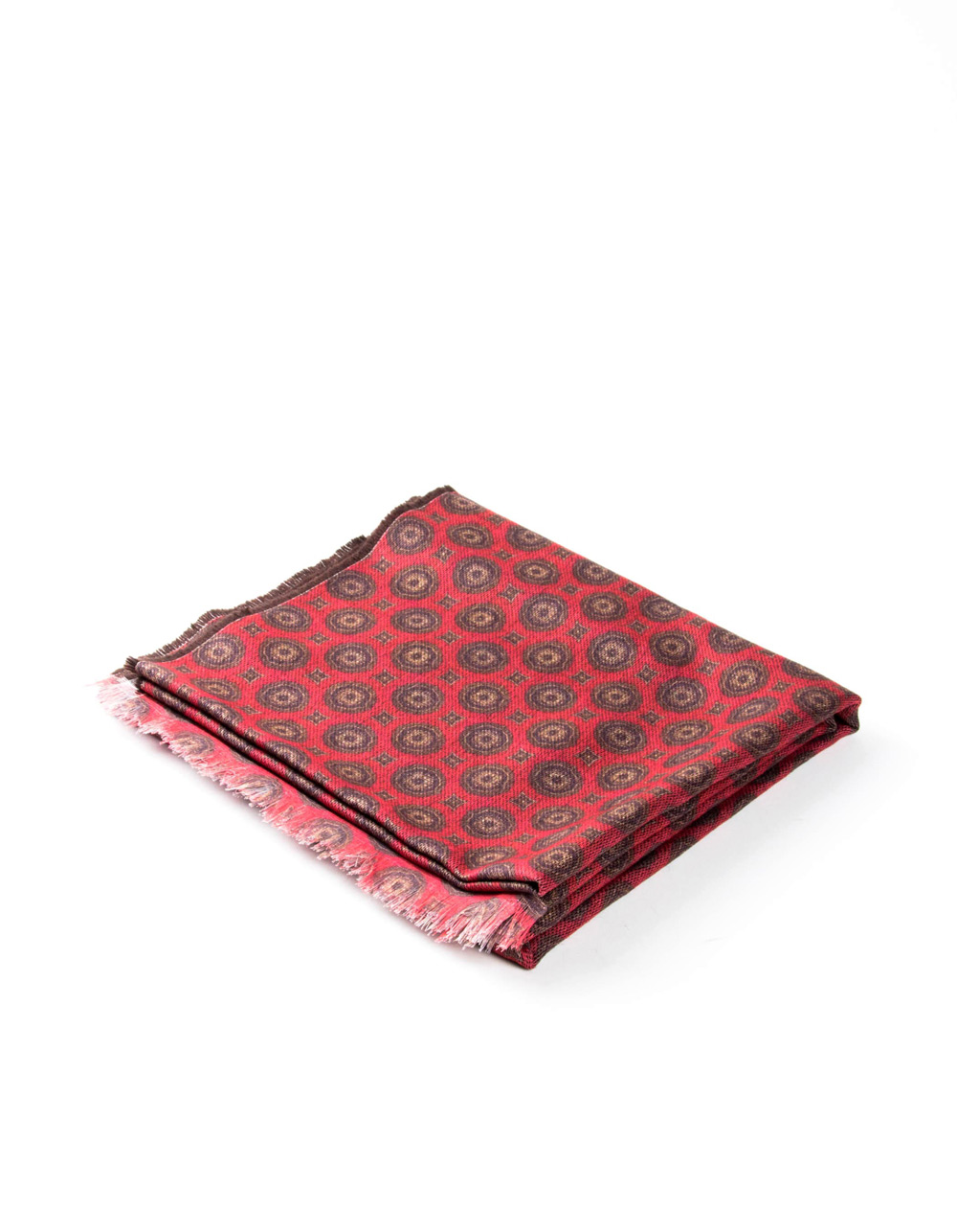 Red fantasy foulard - Backside