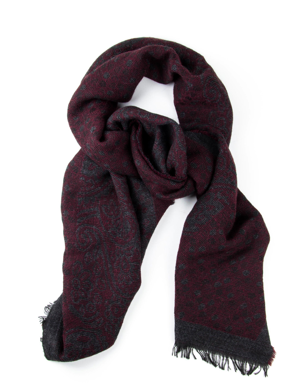Bordo Grey fantasy foulard