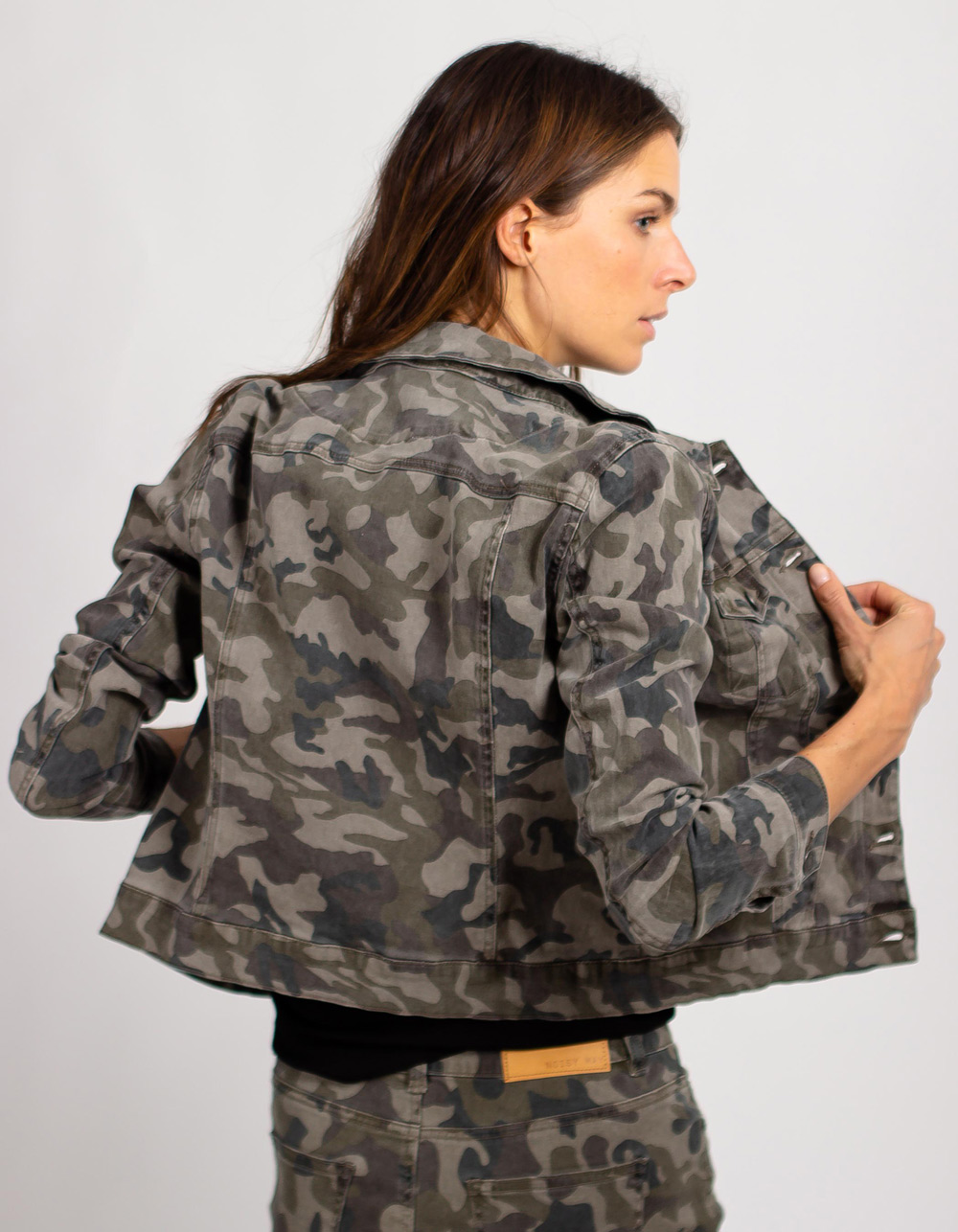 Chaqueta tejana fantasia - Backside