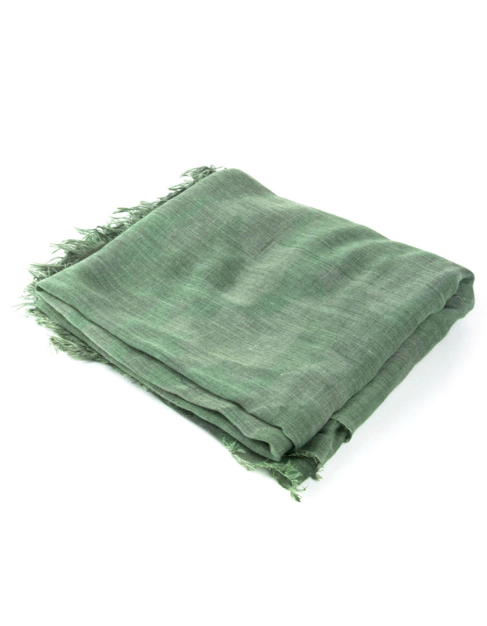 Green camouflage foulard  - Backside