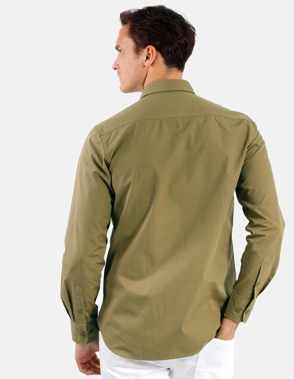 Camisa con bolsillos tapeta - Backside