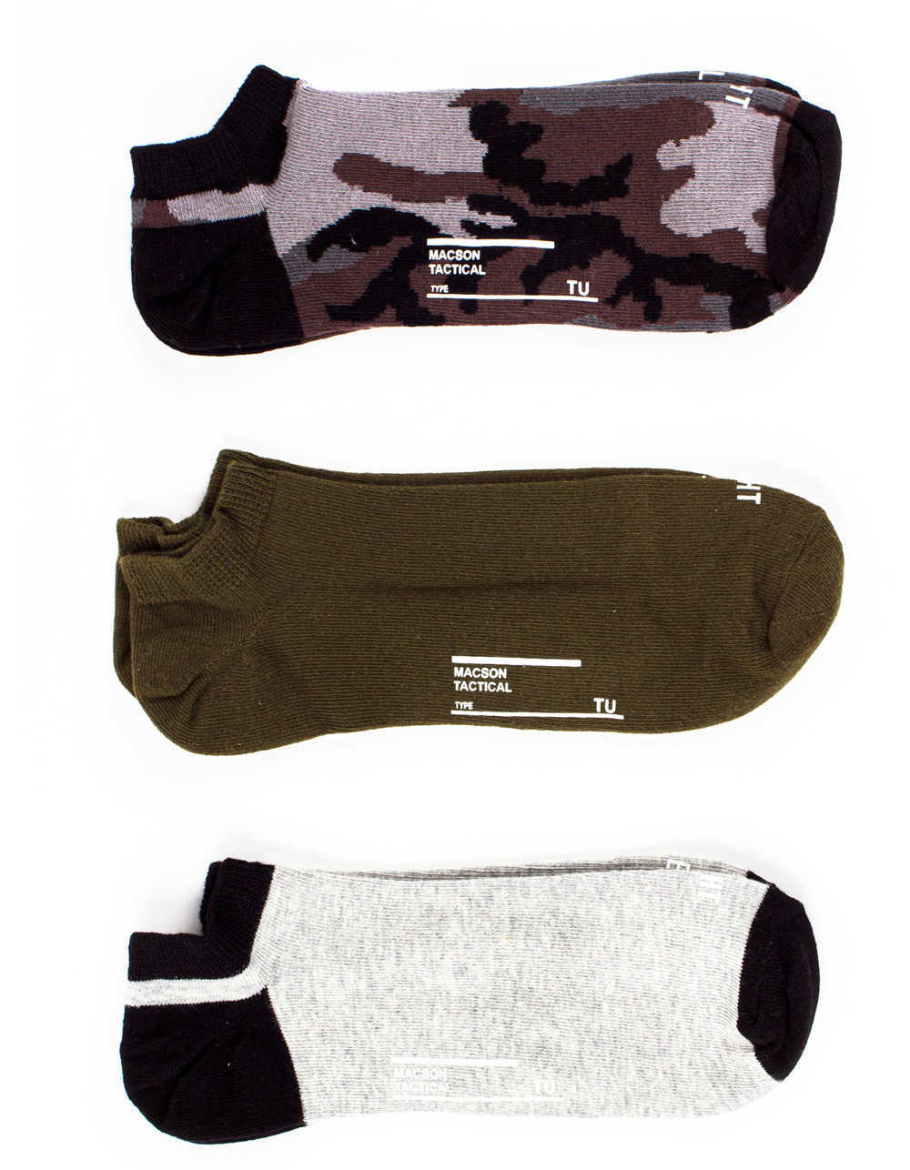 3PACK Ankle Lenght socks - Backside