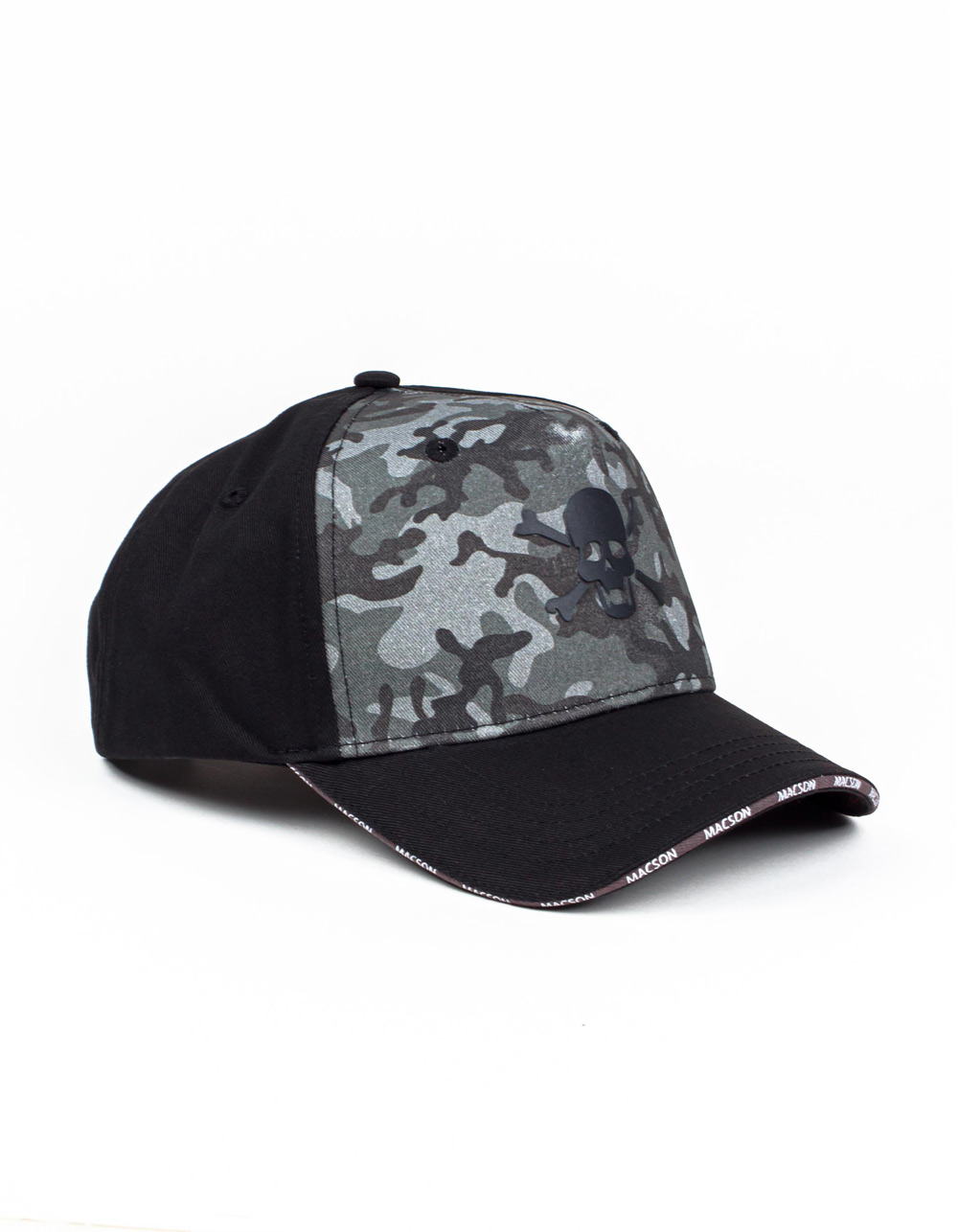 Skull print cap - Backside