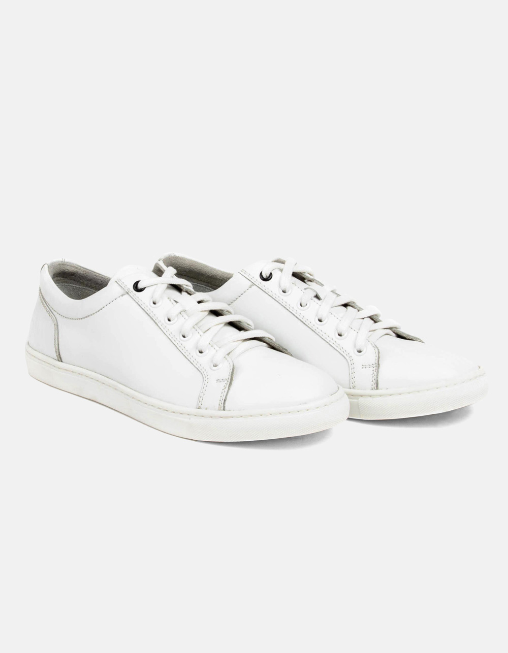 White leather sports