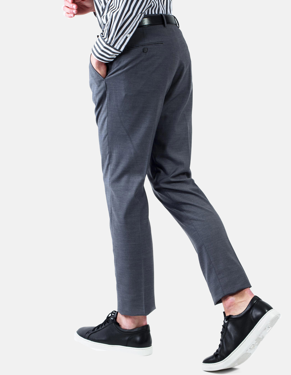 Dress grey trousers - Backside