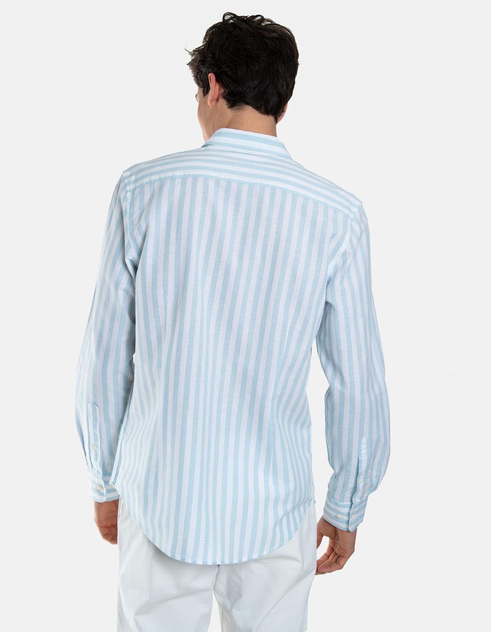 Striped shirt long sleeve - Backside