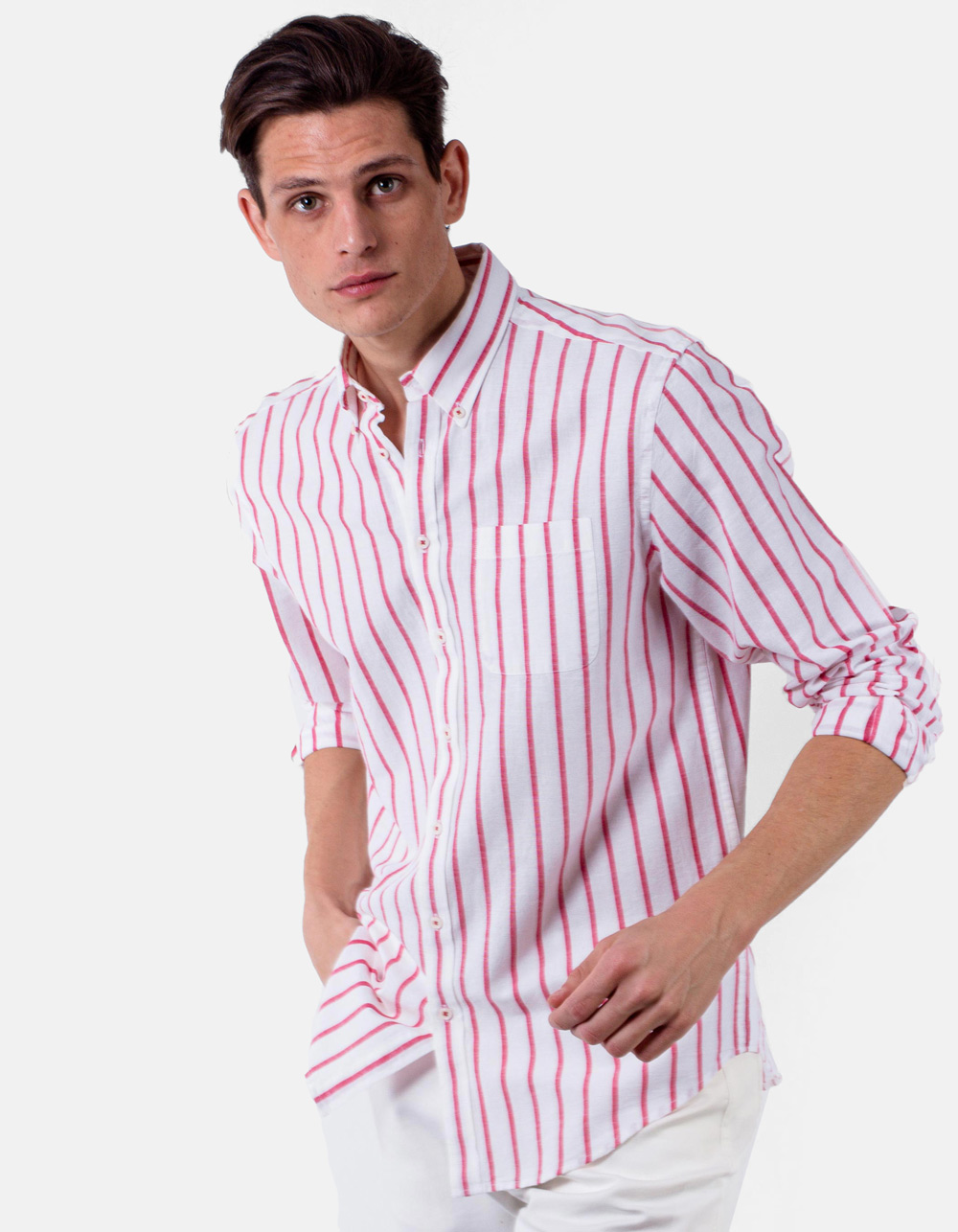 Striped shirt long sleeve