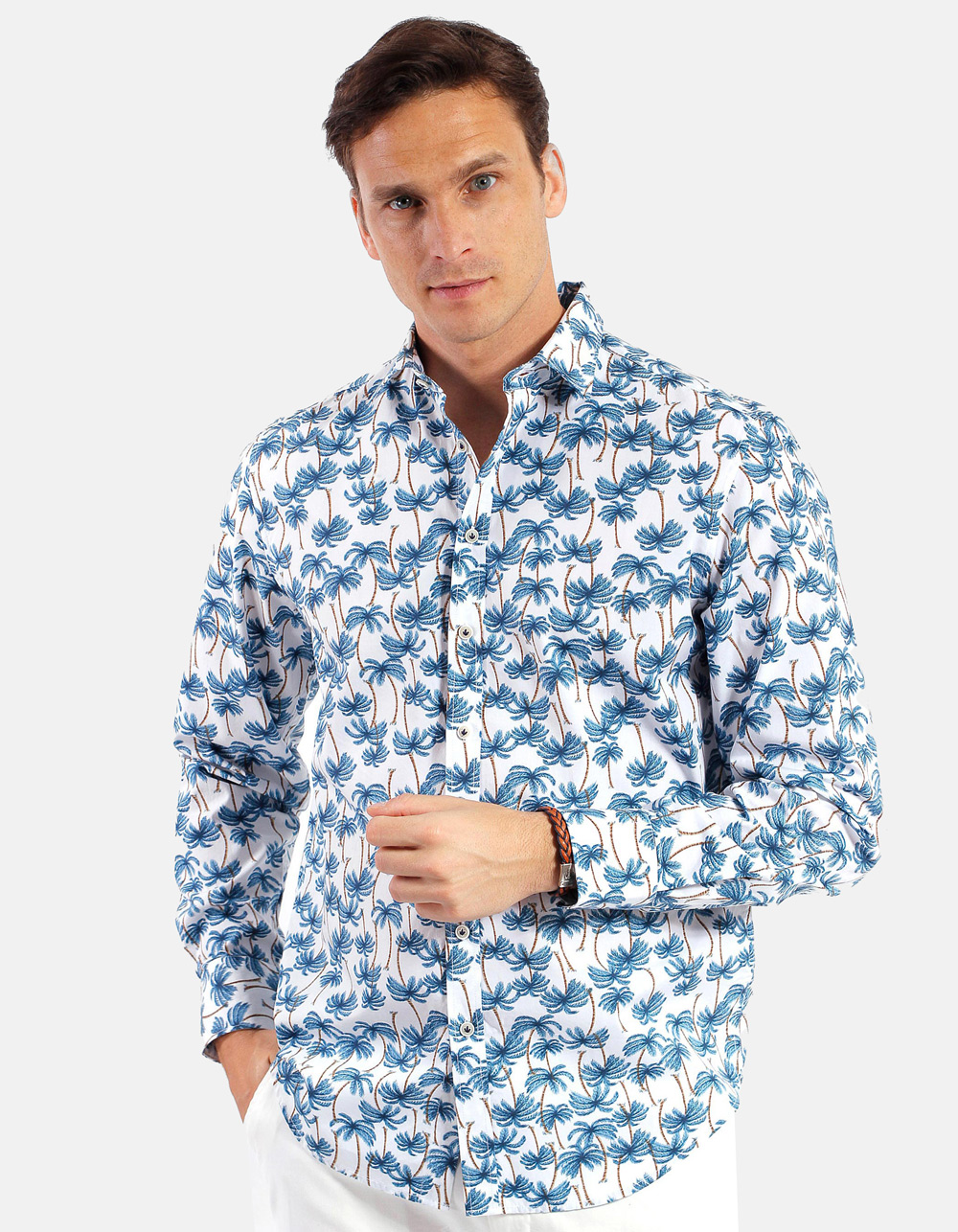 Palm Printed Shirt