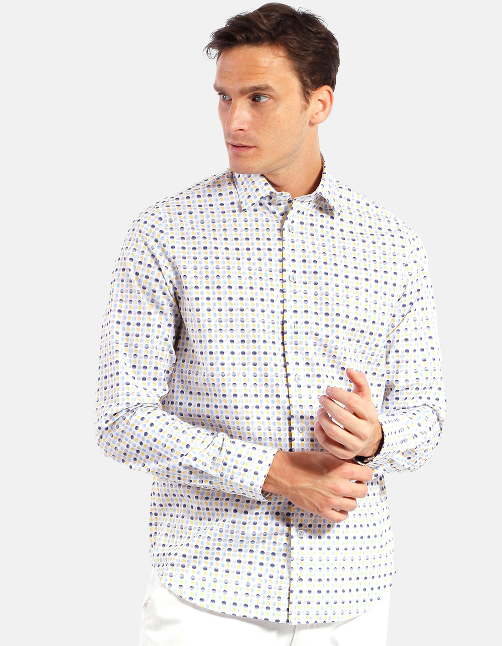 Printed shirt circles