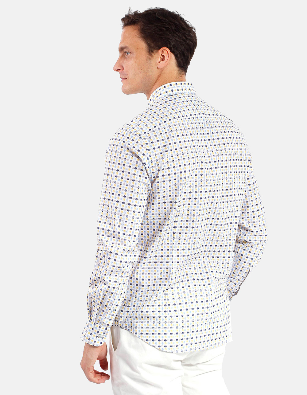 Printed shirt circles - Backside
