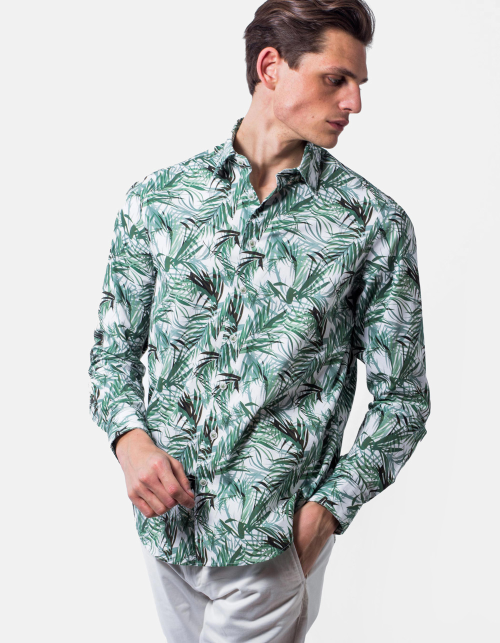 Leaves print Shirt