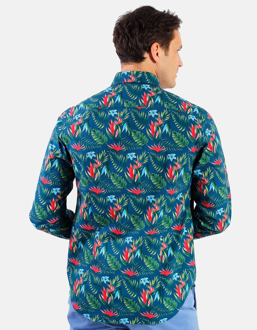 Hawai Printed Shirt  - Backside