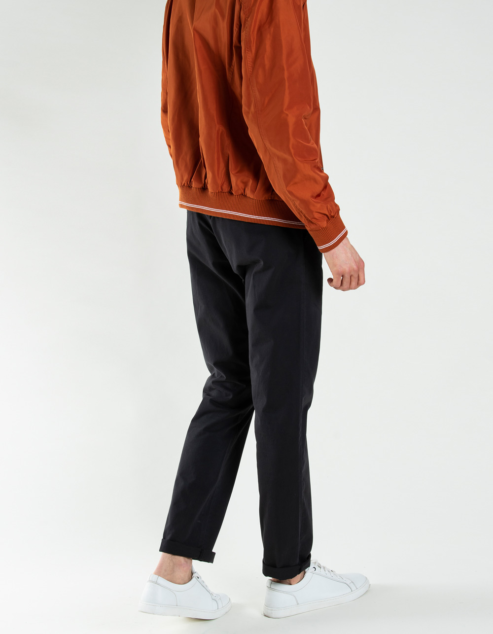 Black chino trousers - Backside