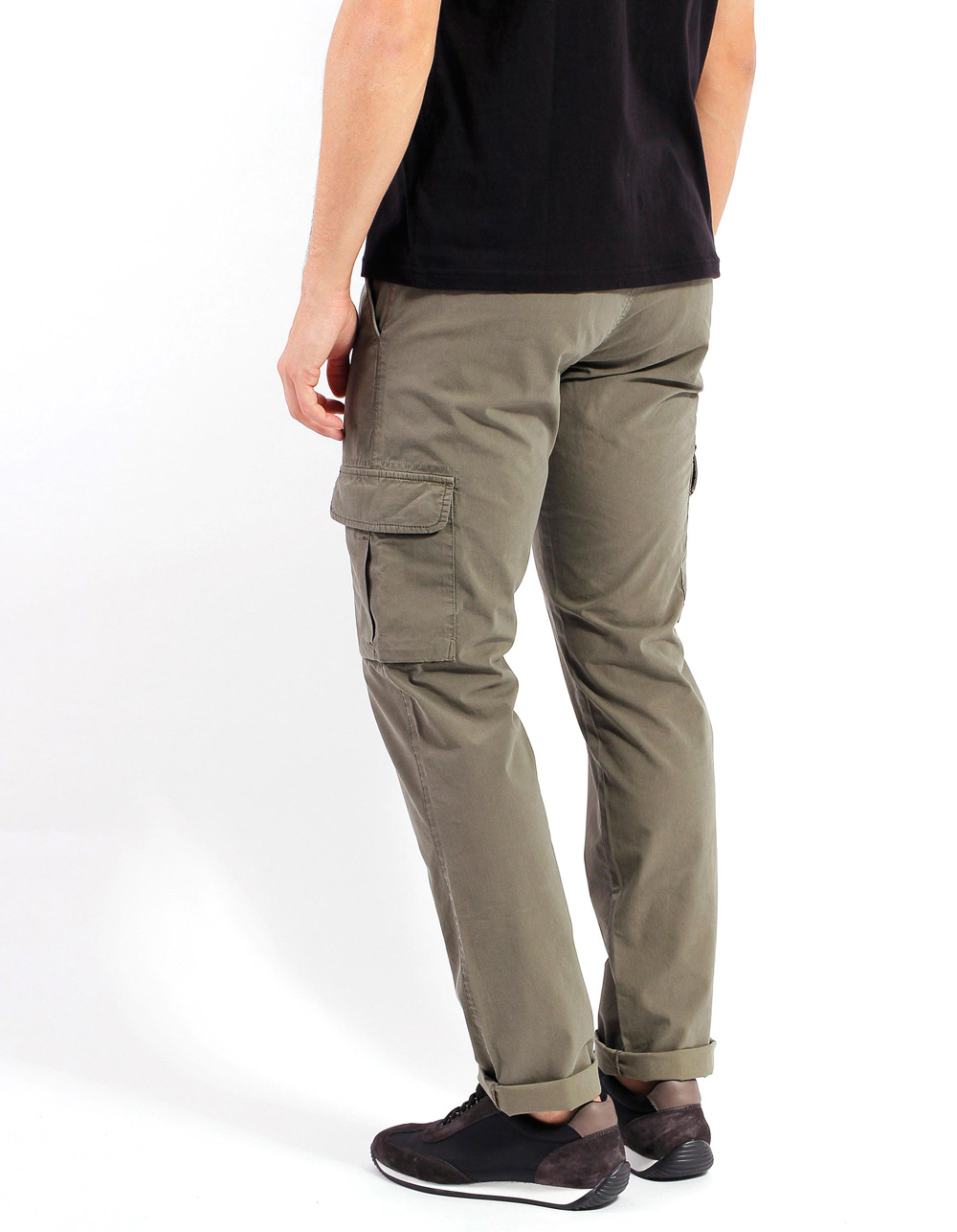 Cargo khaky trousers - Backside