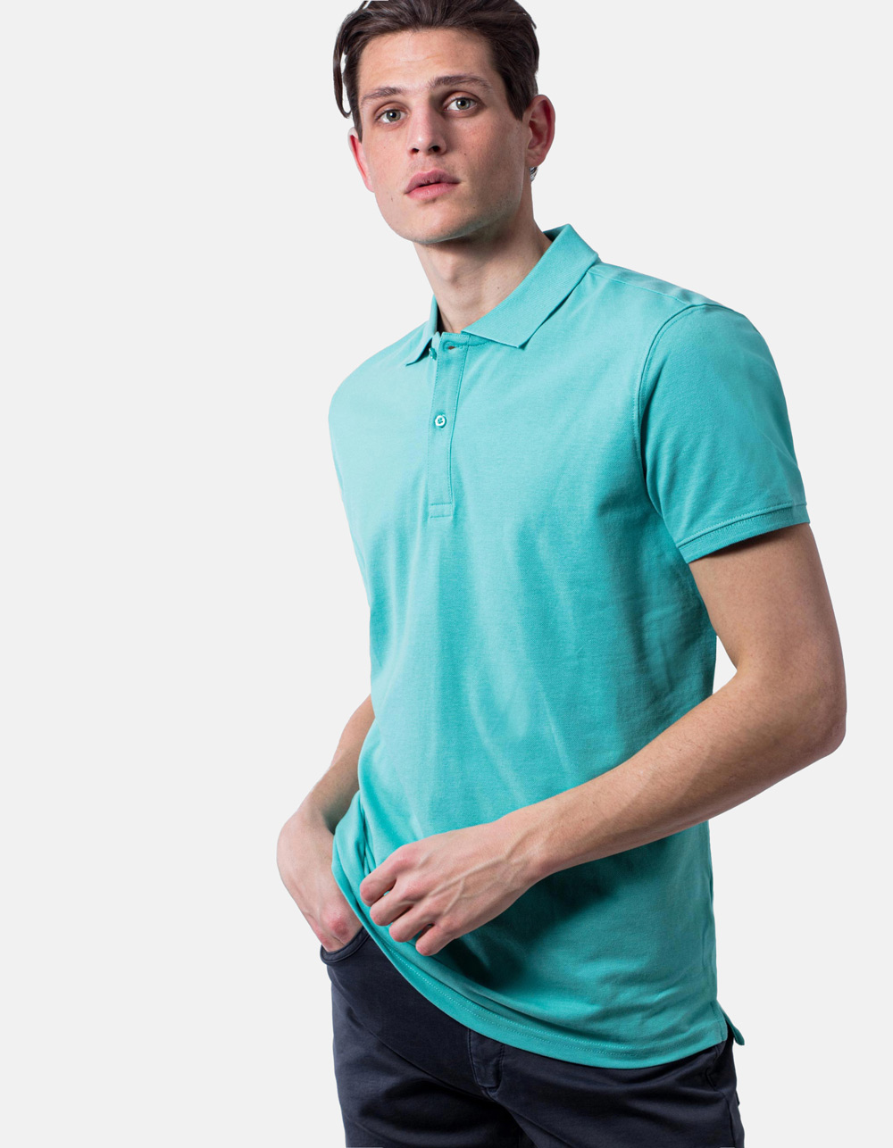 Waterfall basic piqué polo shirt