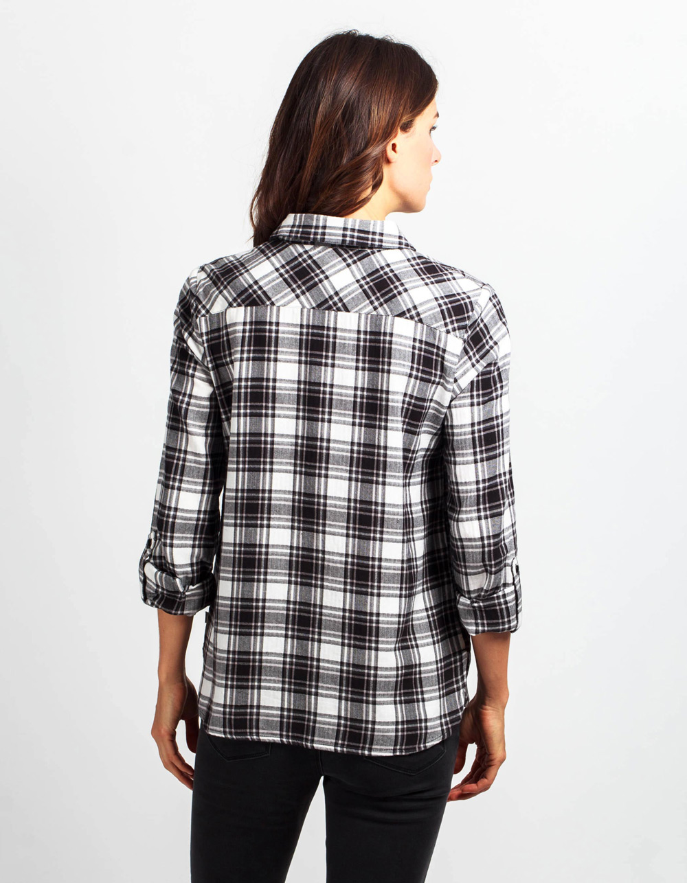 Camisa cuadros - Backside
