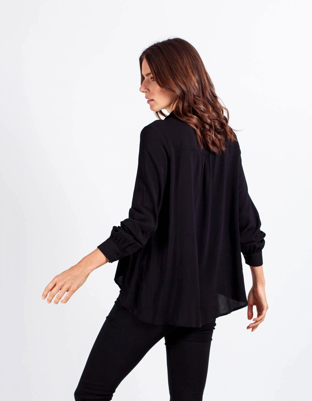 Camisa lisa - Backside
