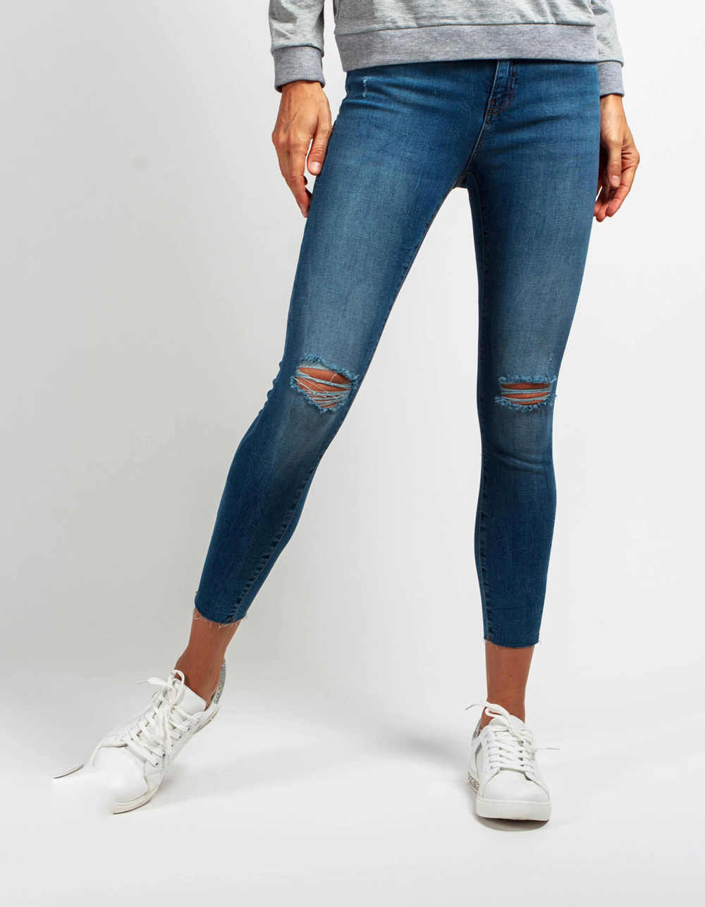 Pantalón vaquero high rise skinny fit