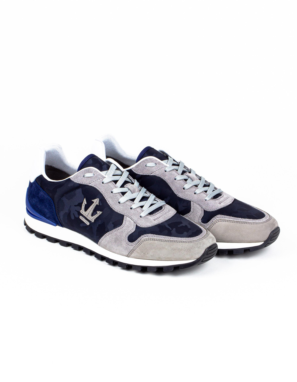 Camou navy sneakers