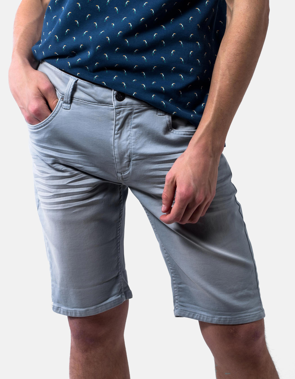 Bermuda 5 pocket blue