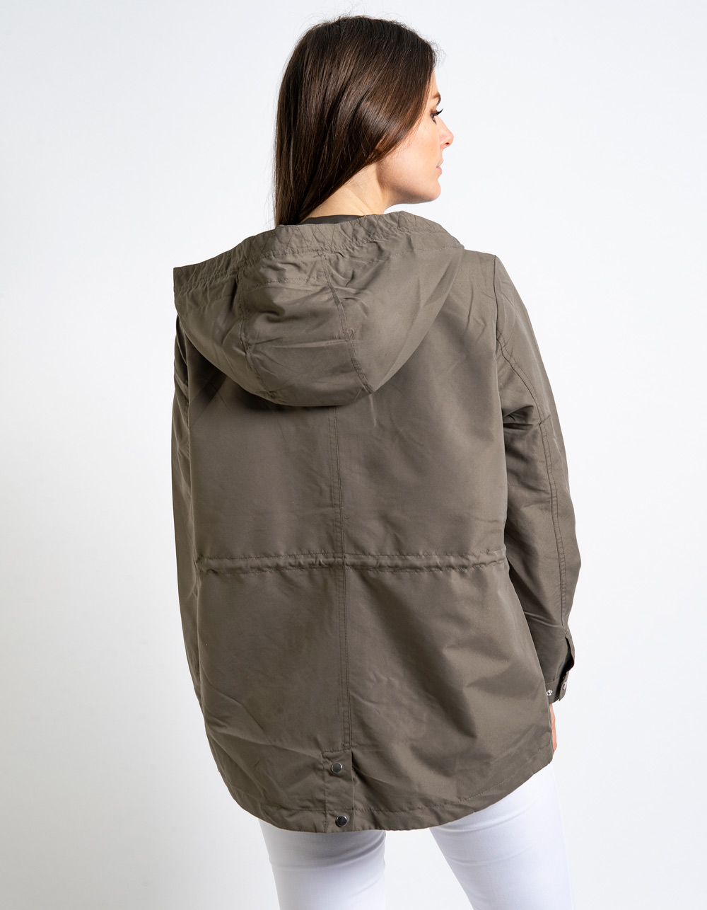 Chaqueta con capucha - Backside