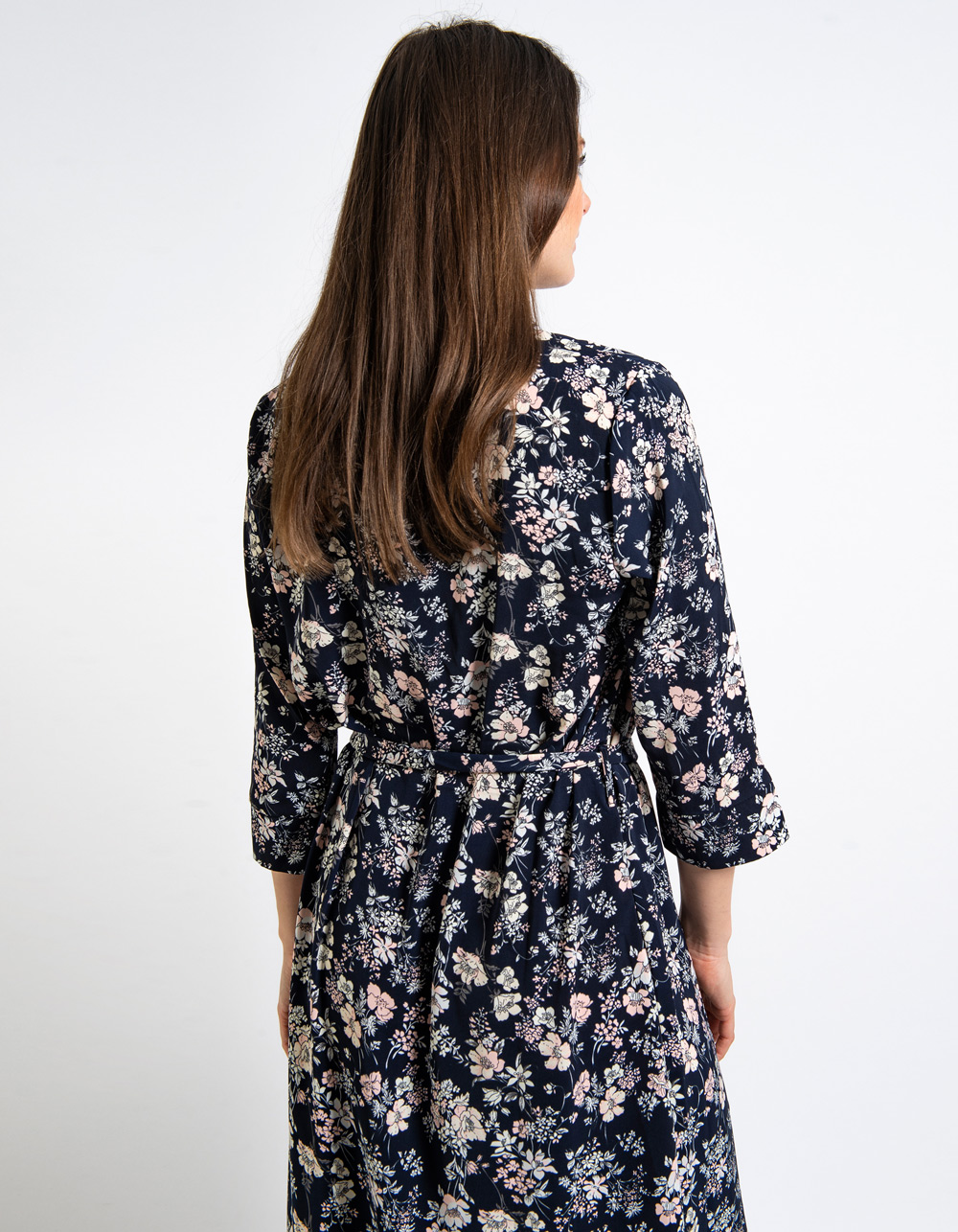 Vestido estampado floral - Backside