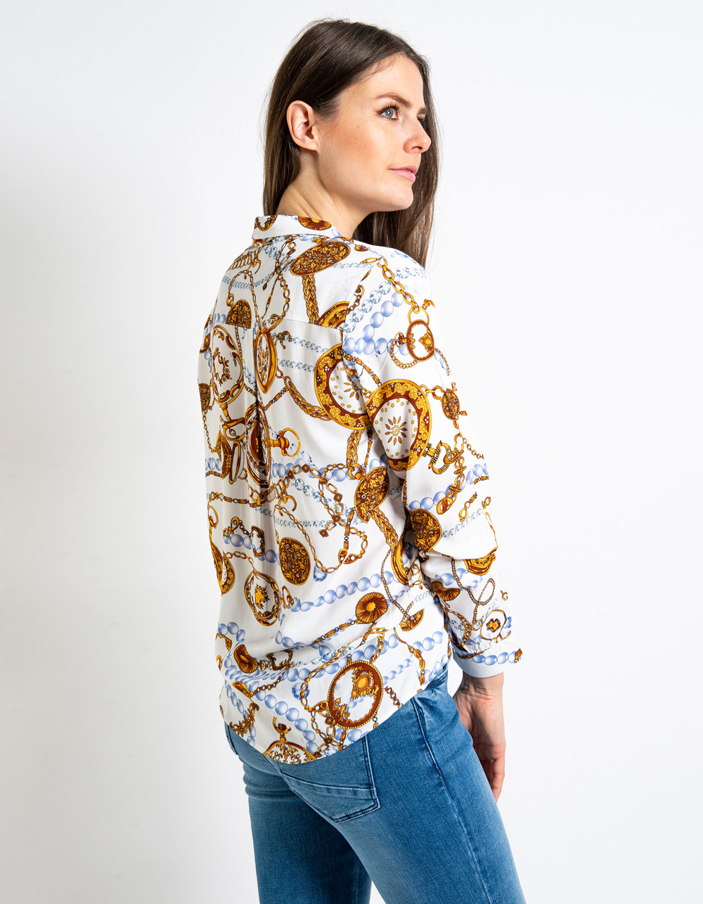 Camisa estampado cadenas - Backside