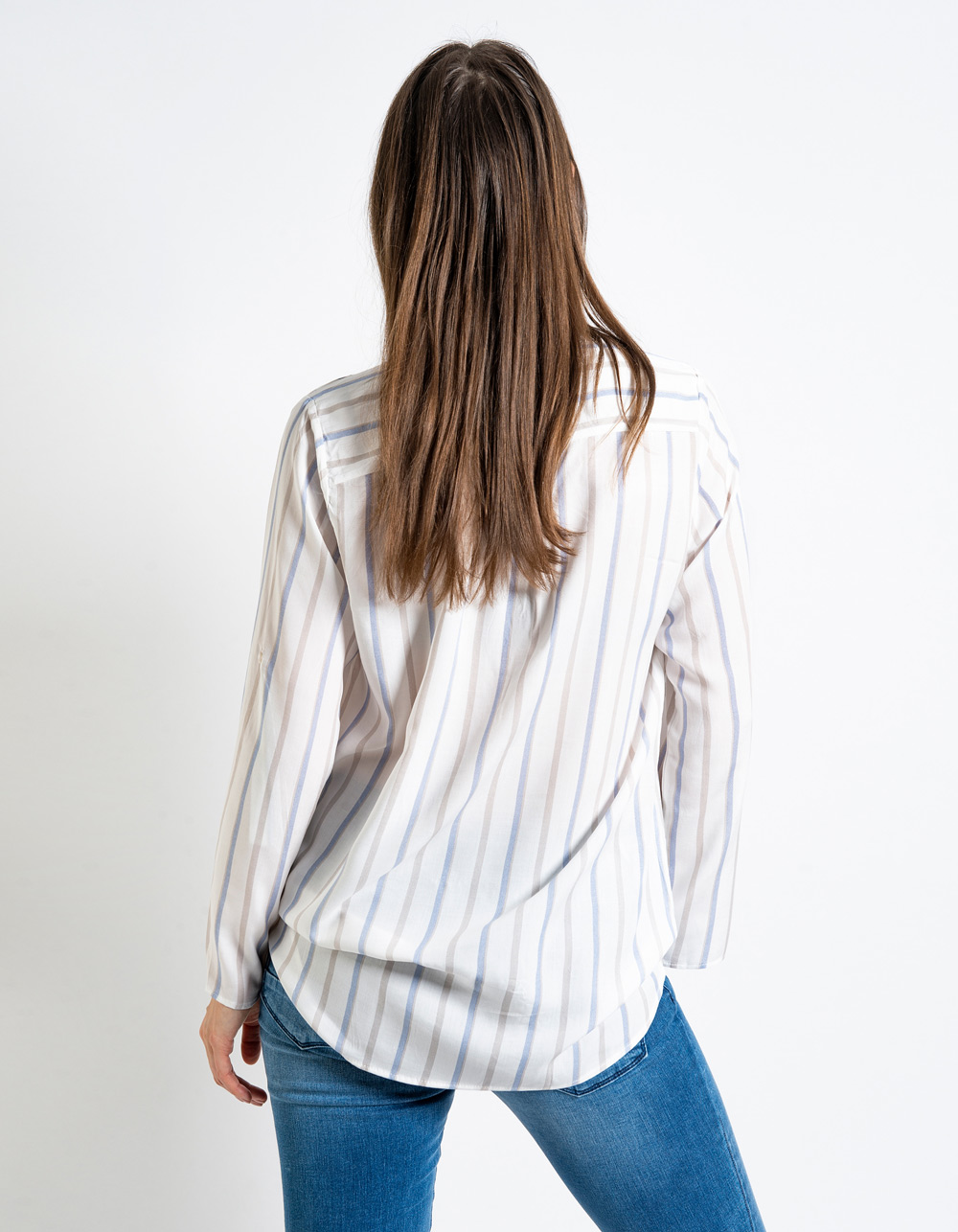 Blusa estampado rayas - Backside