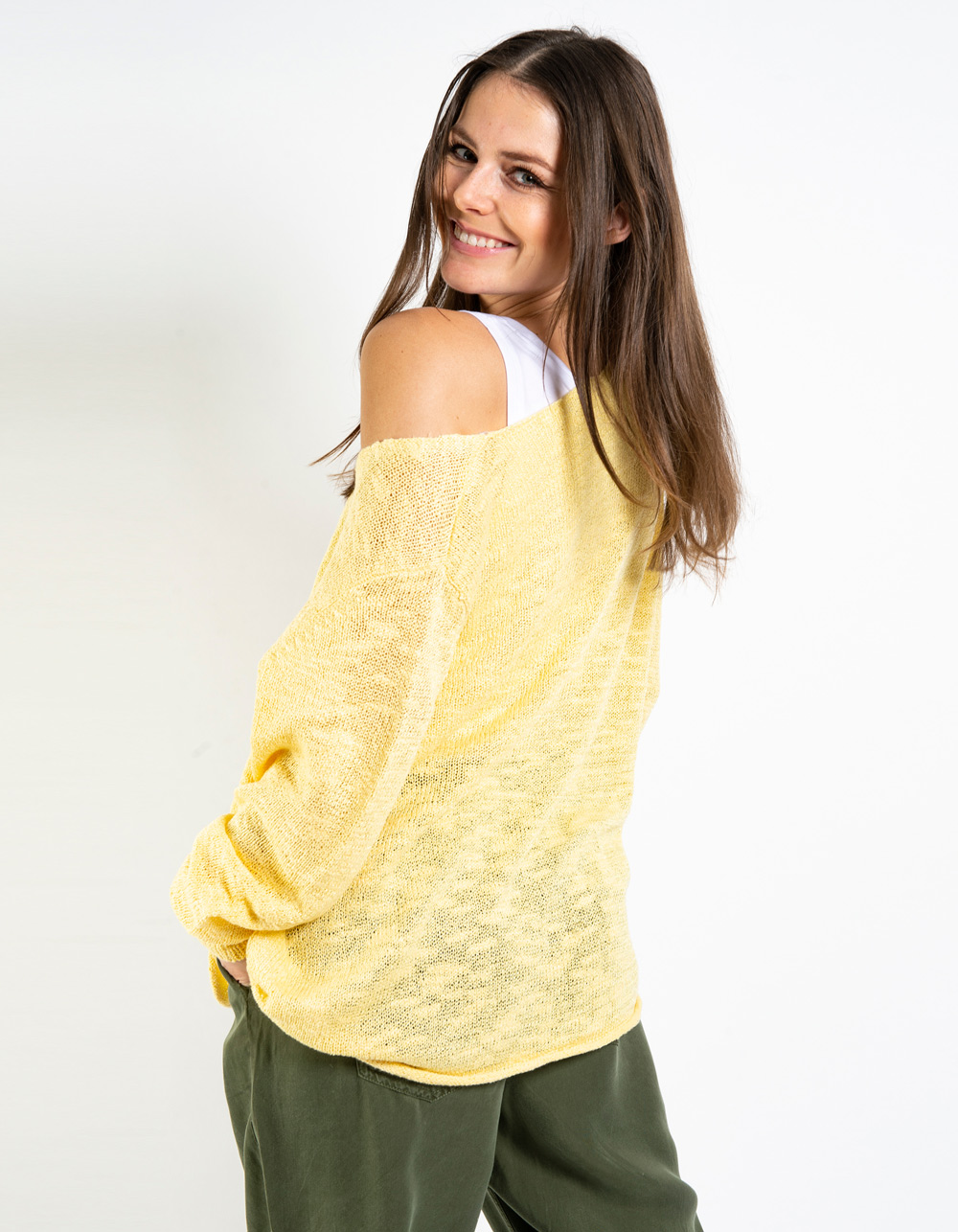 Jersey cuello pico - Backside